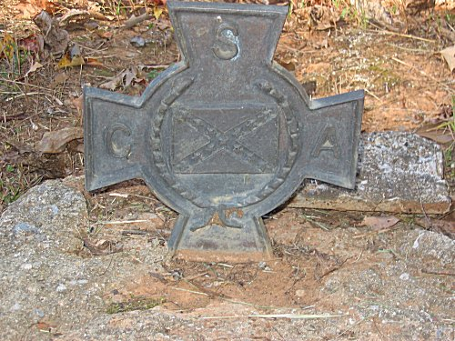 Cross CAPT. Frank B. Gurley Aug 8 1834 - March 29 1920 Forest's CAV. 4 ALA. CO. C.