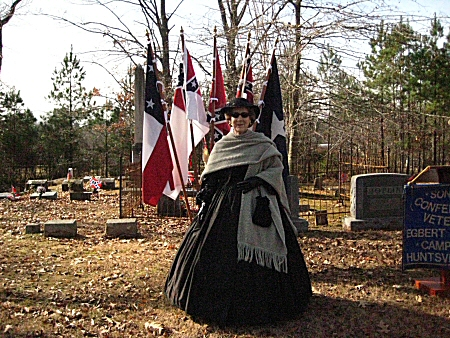 2008 Confederate Memorial Ceremony at the Gurley Cemetery