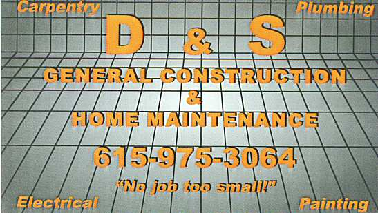 David Brunhoeber Residential Home Maintenance Custom Improvements General Construction Carpentry Plumbing Electrical Painting Alabama & Tennessee Madison and Jackson County Area