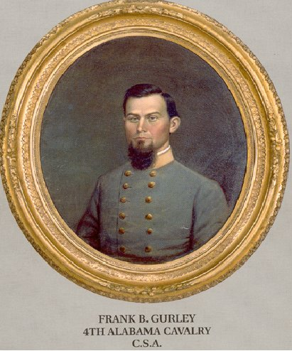 Frank B. Gurley 4TH ALABAMA CAVALRY C.S.A.
