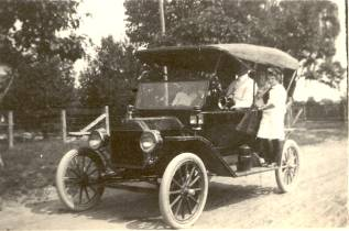 First Ford T-Model in Gurley
