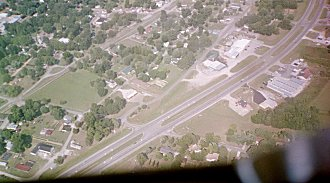 Aerial view of Gurley Alabama - Picture solely taken for the Gurley web site