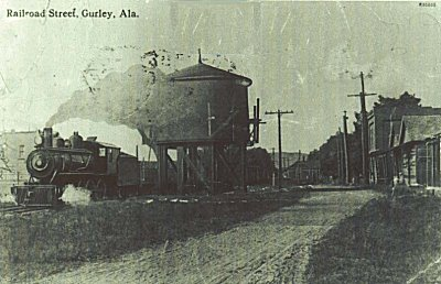 Gurley's Tank located on Railroad Street