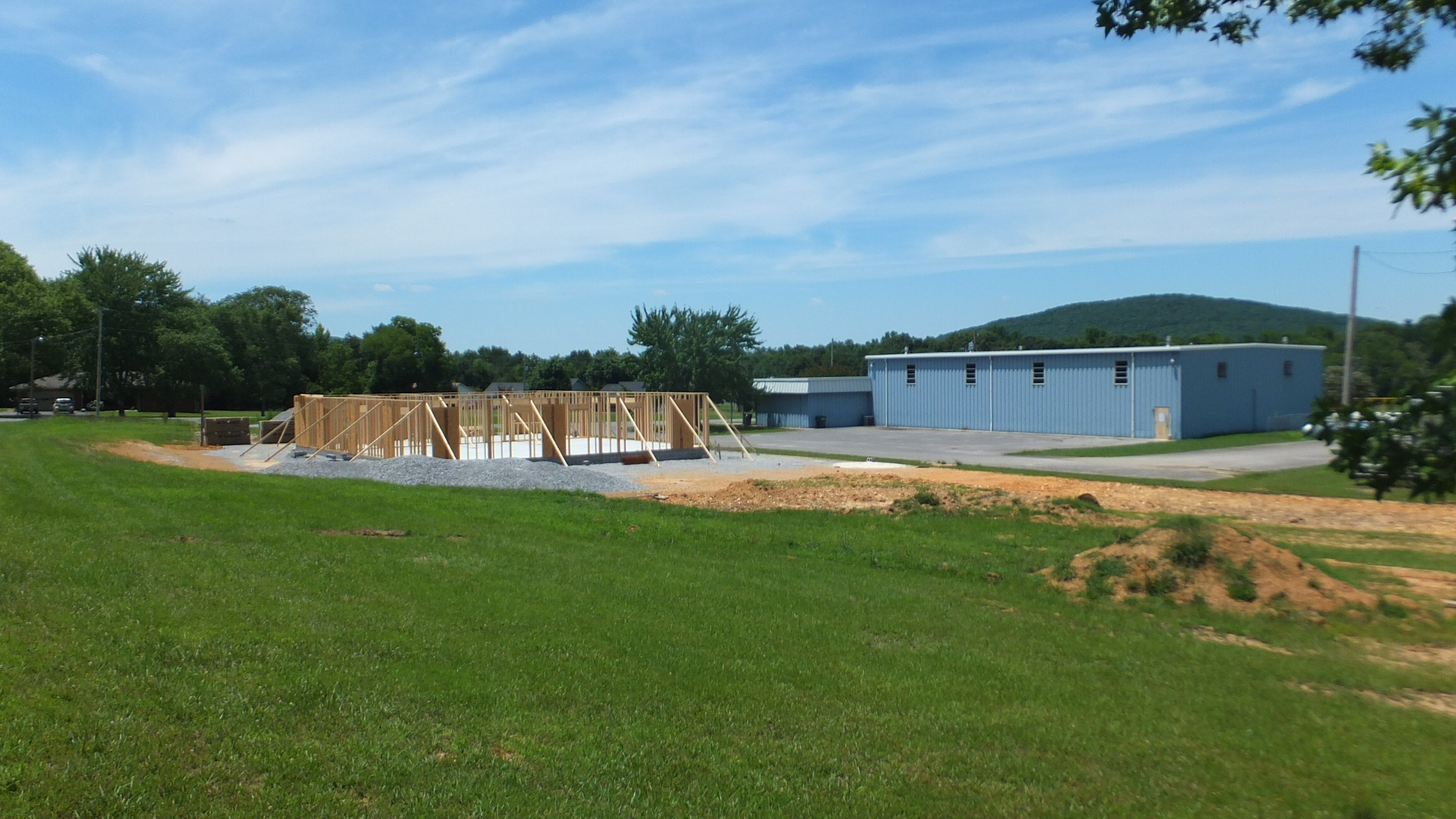 Construction Gurley Senior Center July 2014