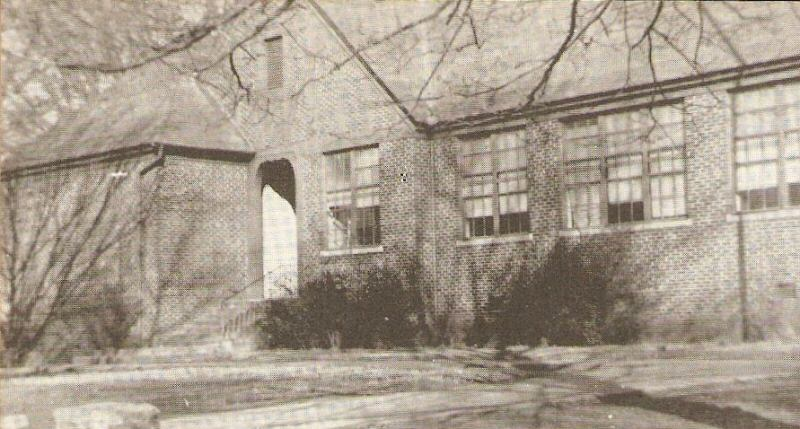 Madison County High School History Buildings 1956