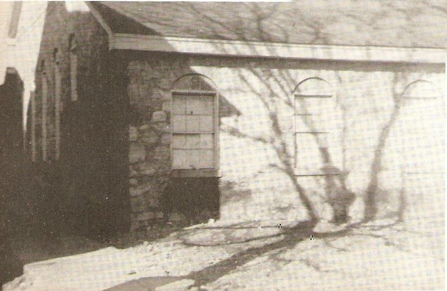 The Gym two story building was built of huge rocks from Keel's Mountain - Brought down by the ball players, Coach and Principal Ross Ford in 1930's... Jane Pearson