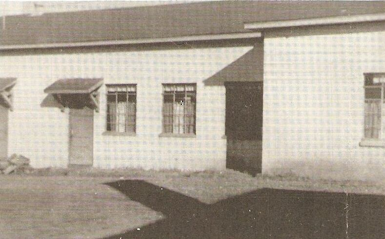 Madison County High School History Buildings 1956 Lunch Room