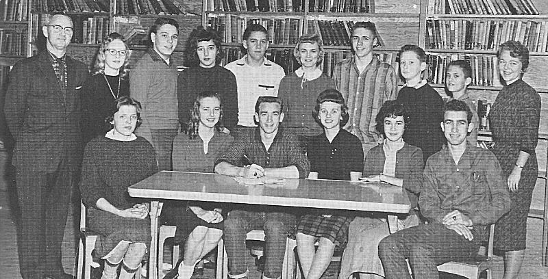 MCHS Student Council 1960