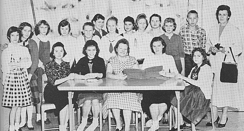 MCHS World Friends Club 1960