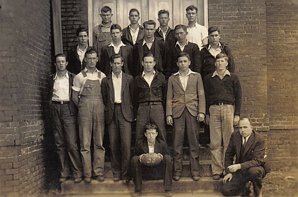 1933 Gurley MCHS Football team