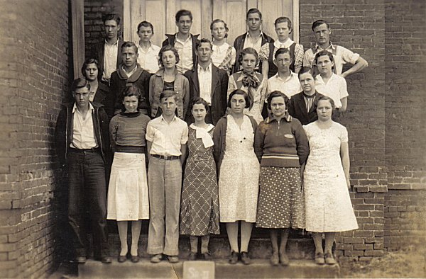 1933 MCHS Senior Class shared by by Dwayne Renfroe