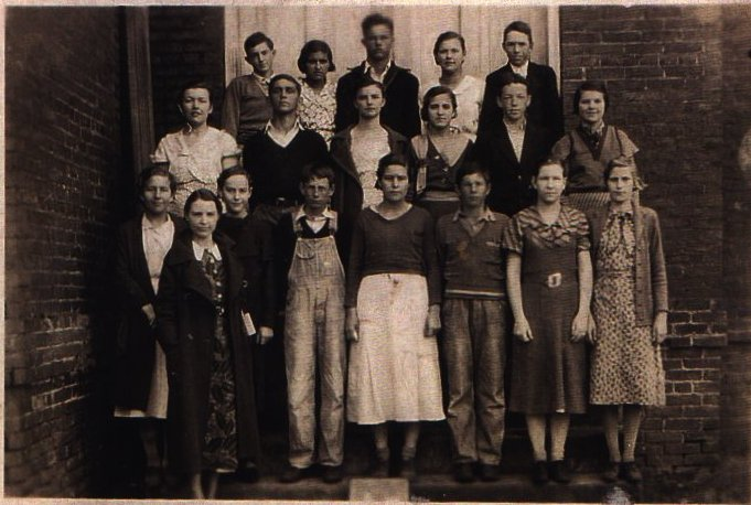 Madison County Junior Class of 1937