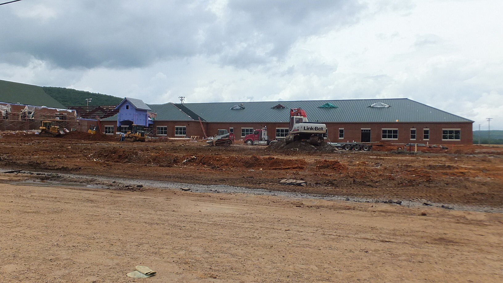 Construction of the New Gurley Madison County Middle School