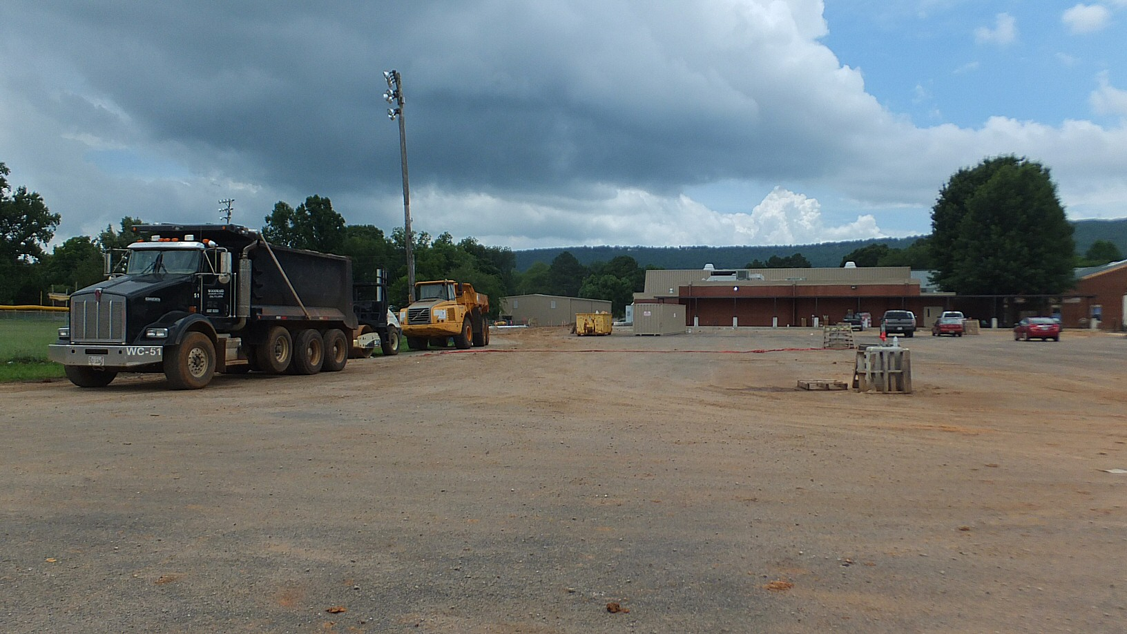 Construction of the New Gurley Madison County Elementary School