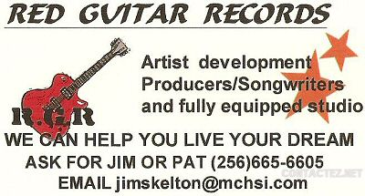 Red Guitar Records Stargate Studio Jim Skelton Alabama