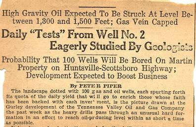 Tennessee Valley Oil and Gas Company