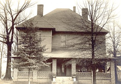 William A. Walker Sr. house about 1910