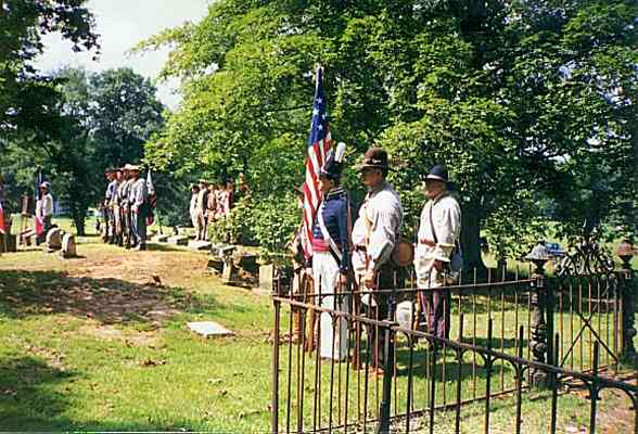 US War Reenactment in Gurley July 1999