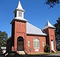 Click to zoom Gurley Cumberland Presbyterian Church one of the three original churches established in Gurley in 1892